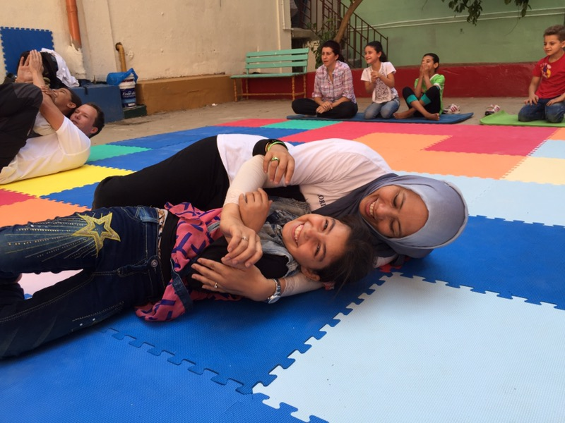 Original Play with Refugees in Lebanon 2016